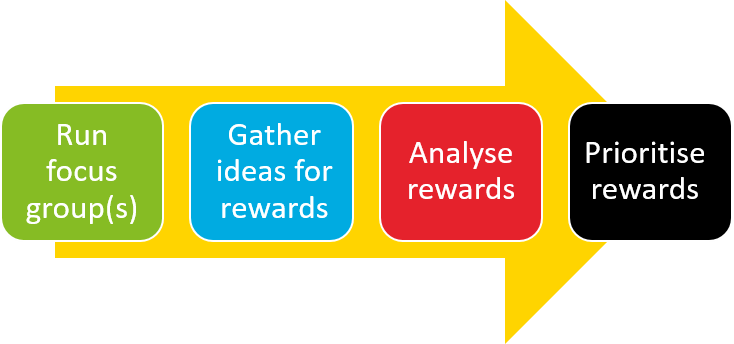 User Focus Group Rewards Process