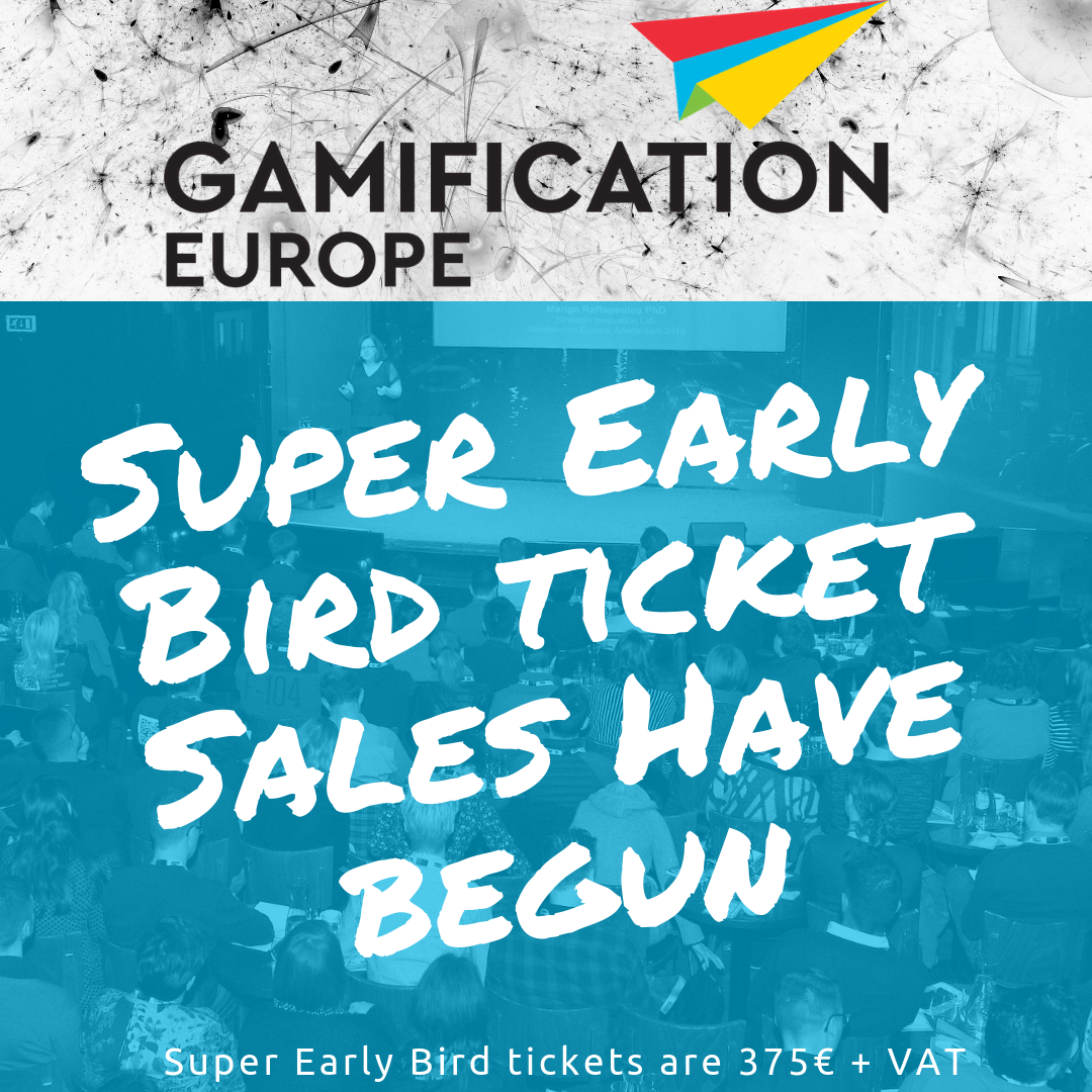 Super Early Bird Tickets Available